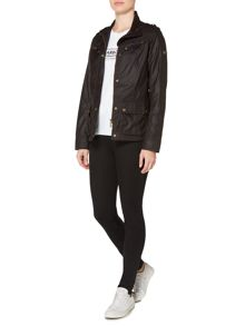 Barbour Barbour International hairpin wax jacket