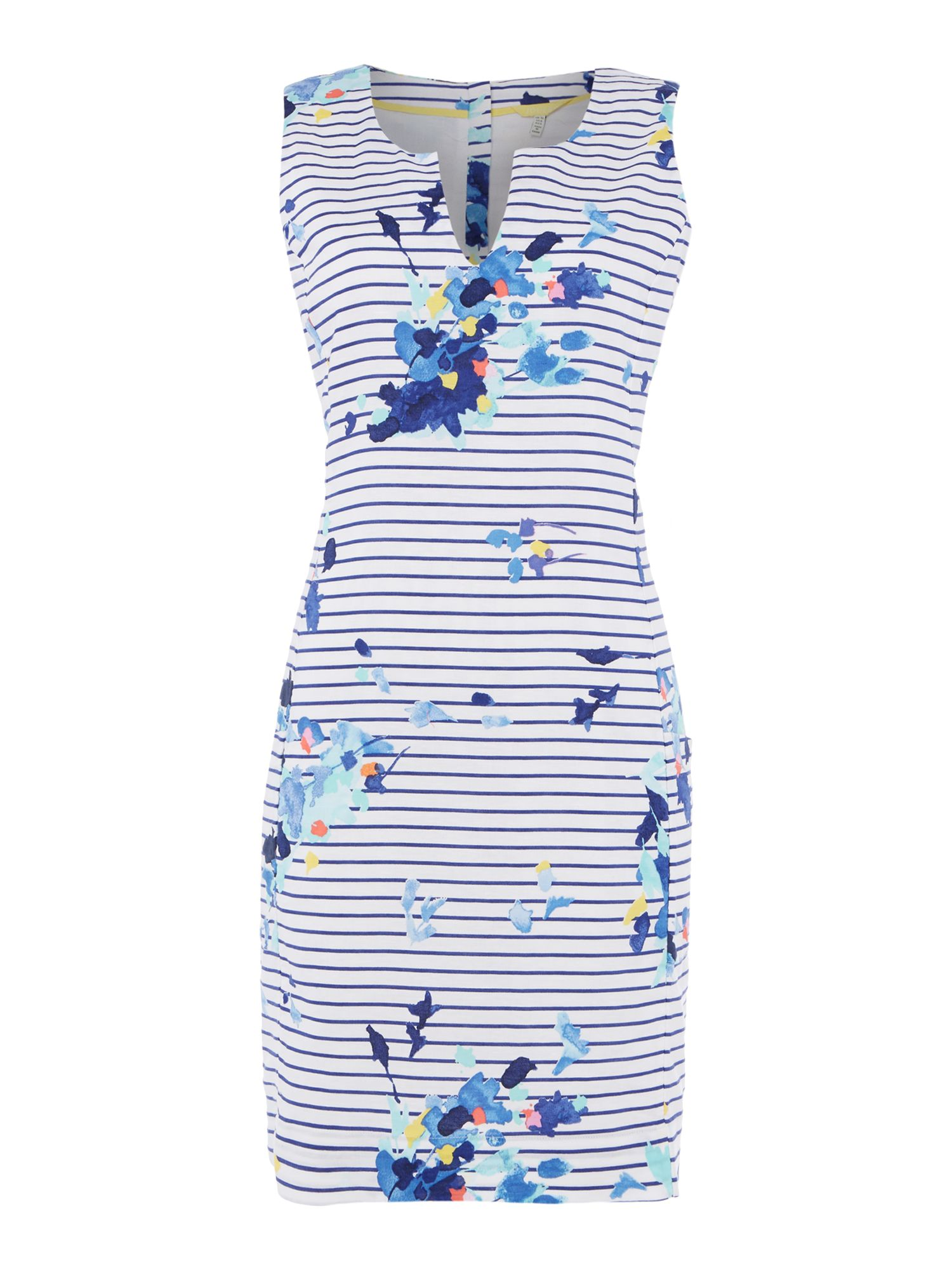 Joules Sleeveless shift dress, Blue