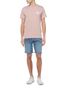 Jack & Jones Logo Crew-Neck Short-Sleeve Cotton T-shirt