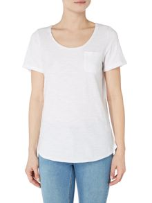 Joules Jersey t-shirt with front pocket