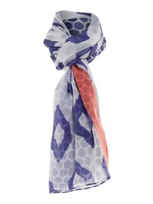 Joules Woven printed scarf