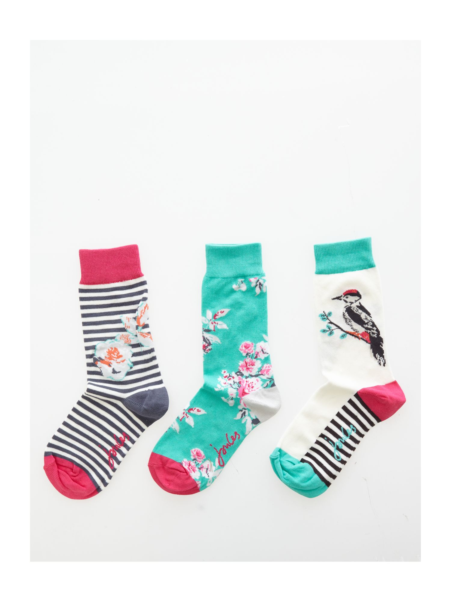 Joules Ankle socks set WhiteBlack