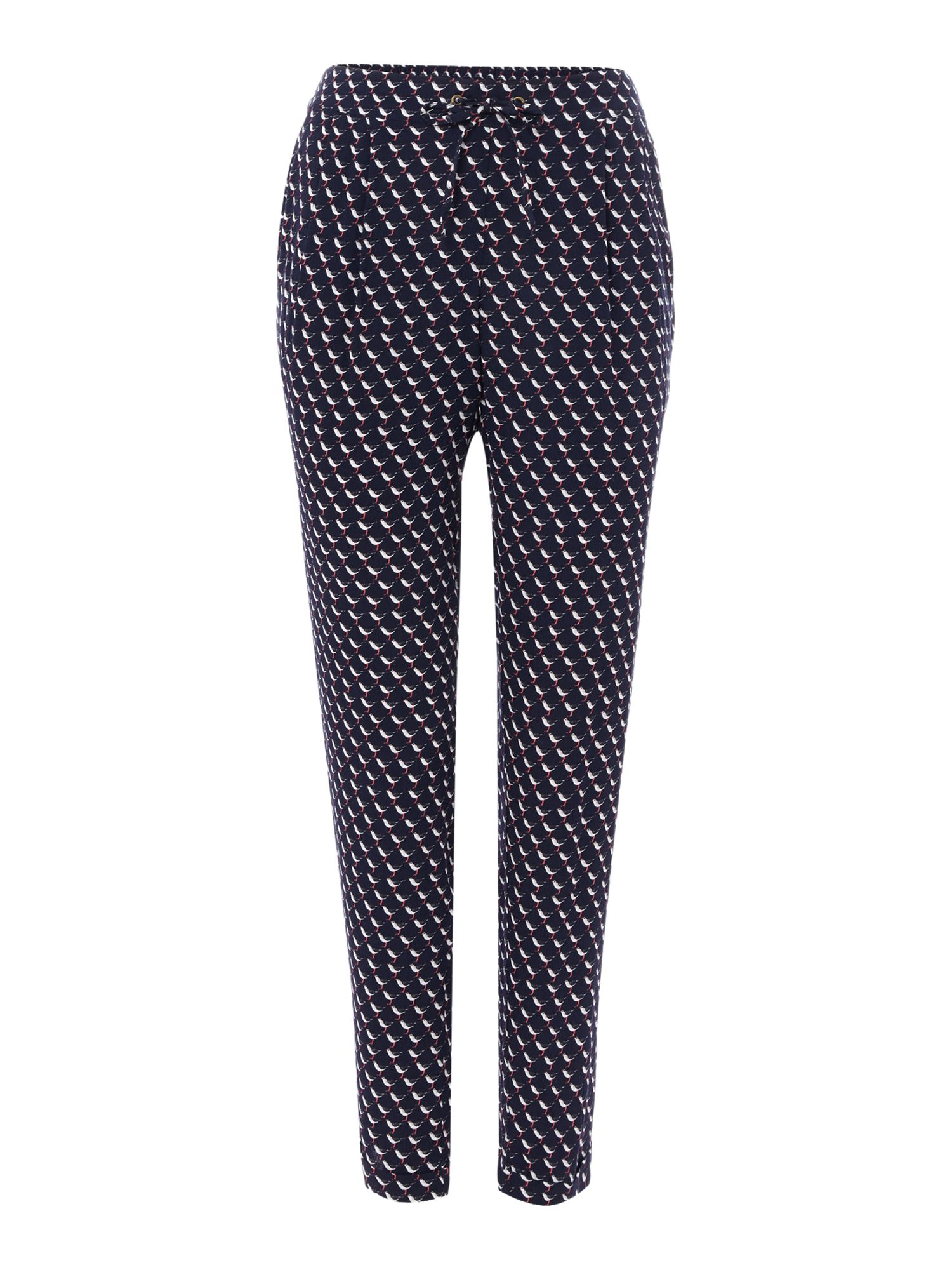 Joules Woven printed trouser, Blue Multi
