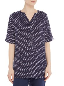 Joules V neck pull over tunic