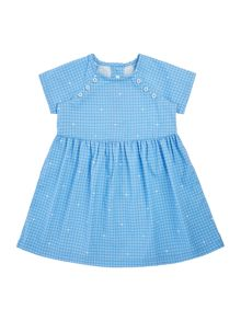 Benetton Baby Button Detail Dress
