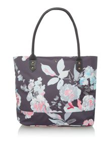 Joules Coated canvas book bag