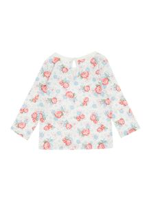 Benetton Baby Vintage Floral Long Sleeve T-shirt