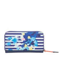 Joules Coated canvas purse