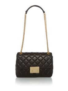 Michael Kors Sloan large chain shoulder flapover bag