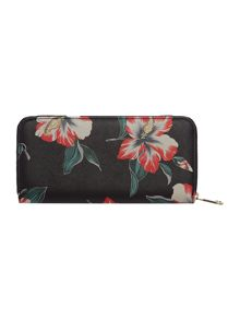 Guess Isabeau floral zip around