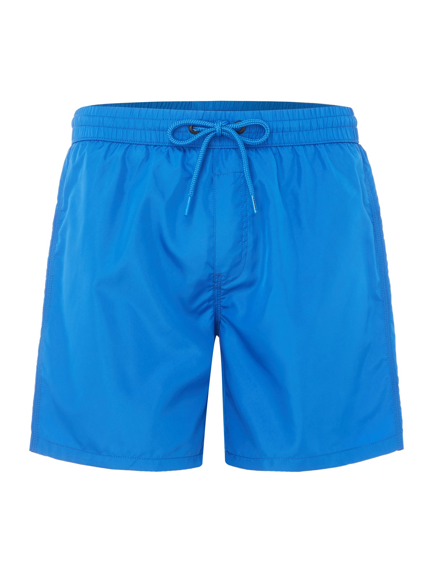 Men's Diesel Side Logo Swim Shorts, Blue