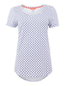 Joules Printed jersey t-shirt