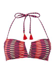 Heidi Klum Intimates Catalina kisses wirefree bandeau bikini top