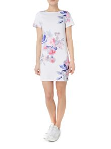 Joules Printed jersey t-shirt dress