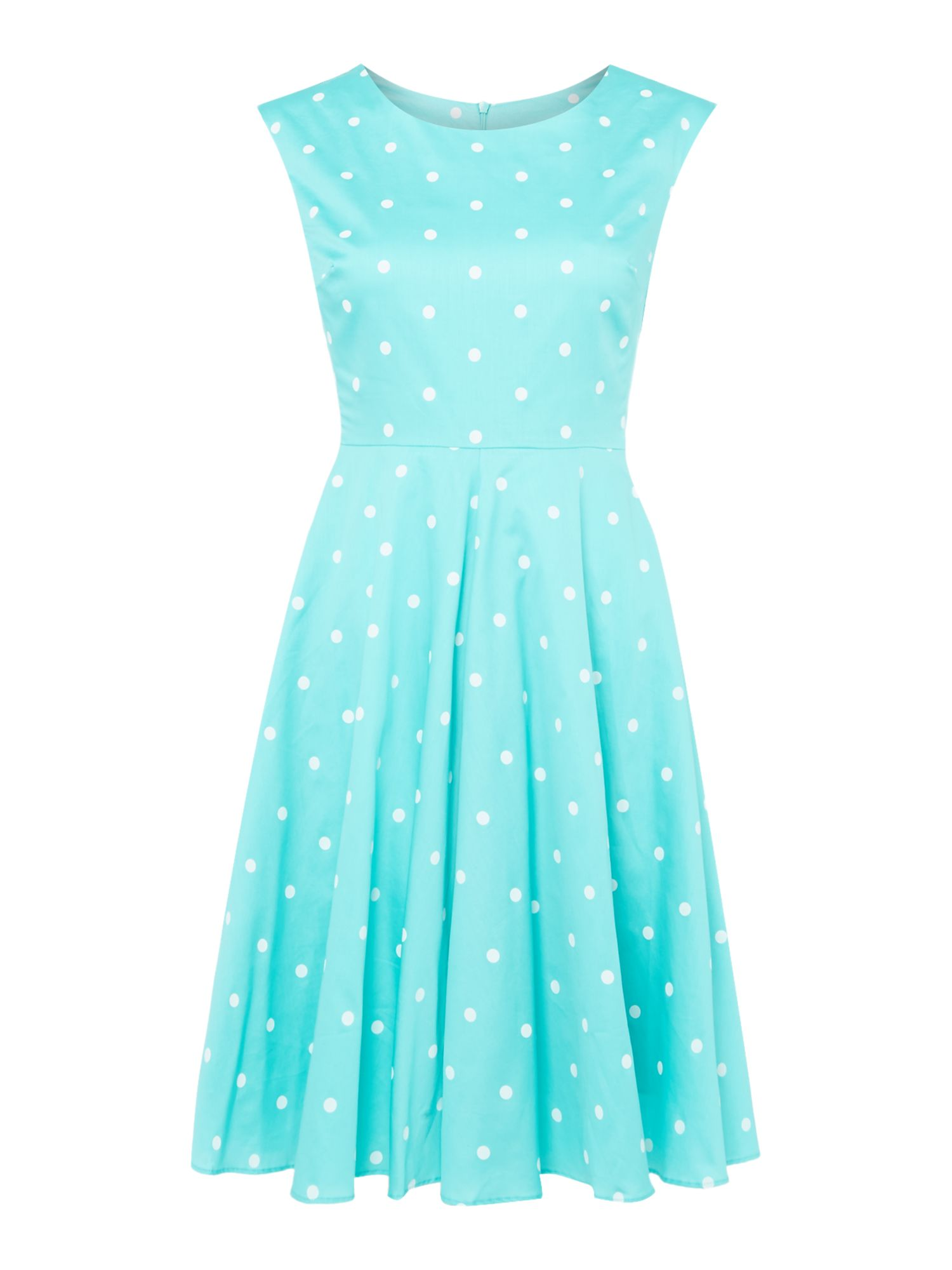 Joules Fit and flare dress, Green