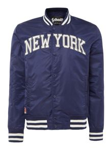 Schott New York varsity bomber jacket