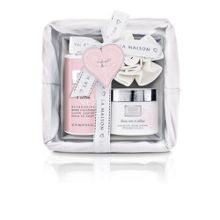 Baylis & Harding La Maison Linen Rose & Cotton Small Bath Hamper