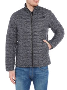 The North Face Thermoball full zip printed packable jacket