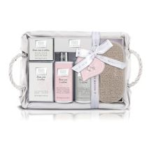 Baylis & Harding La Maison Linen Rose & Cotton Bathing Hamper
