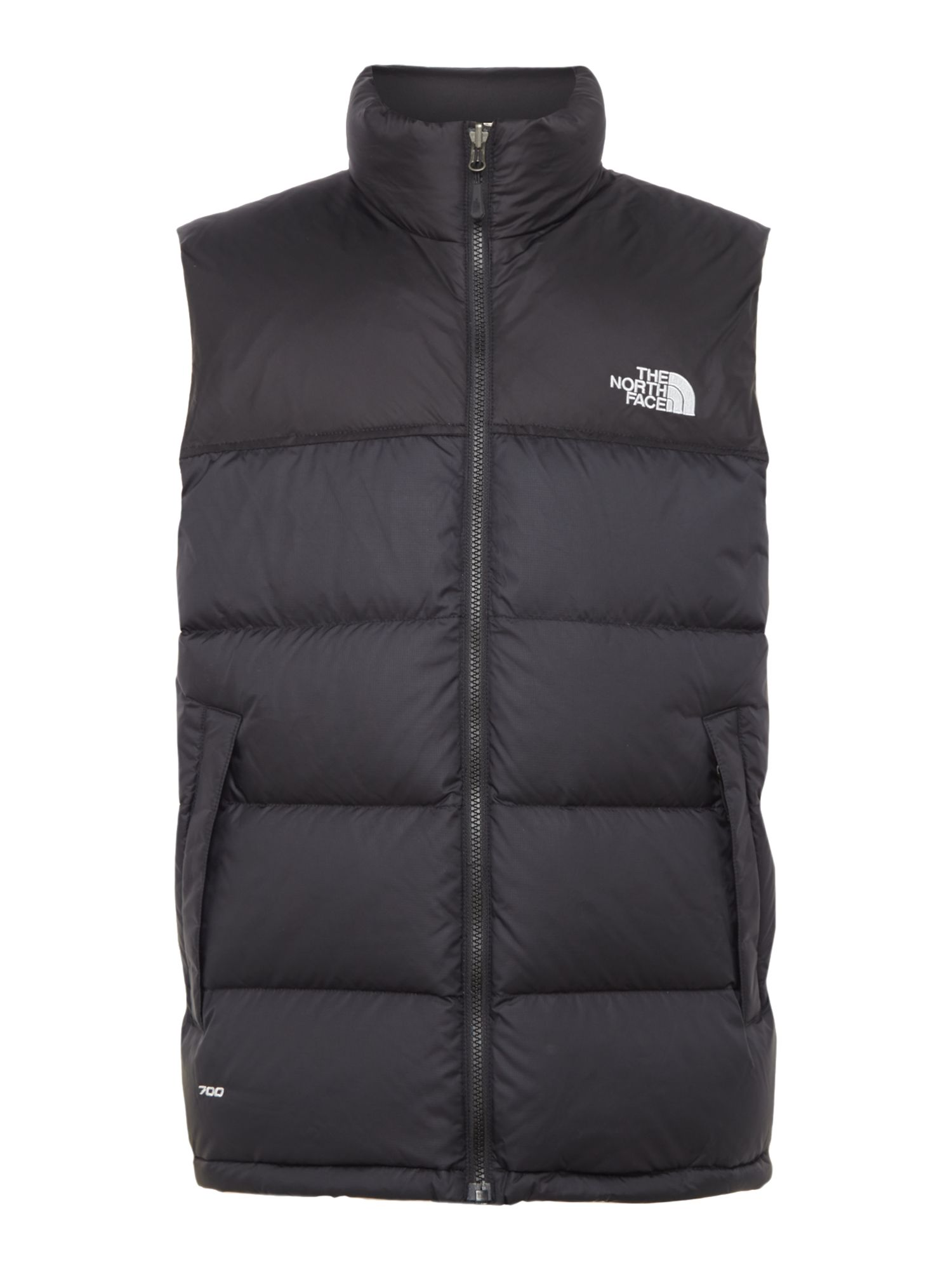 Mens The North Face Nuptse vest Black