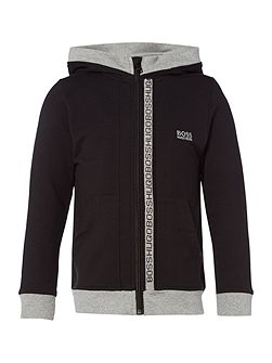 Boys Cotton Zip-Up Hoody