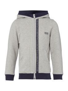 Hugo Boss Boys Cotton Zip-Up Hoody