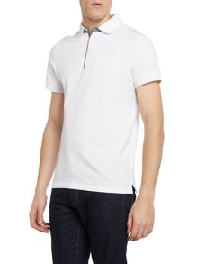 The North Face Small logo short sleeve pique polo