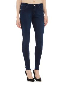 Levi's Super Skinny mid rise jean in true beauty