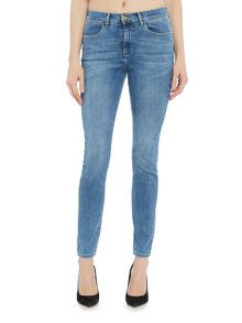 Levi's High Rise Skinny jean in best blue