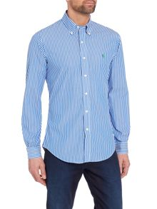 Polo Ralph Lauren Long sleeve poplin check shirt
