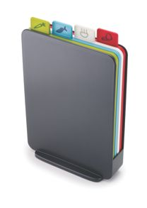 Joseph Joseph Index Compact Chopping board set, Graphite