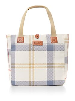 Barbour canvas summer tote bag