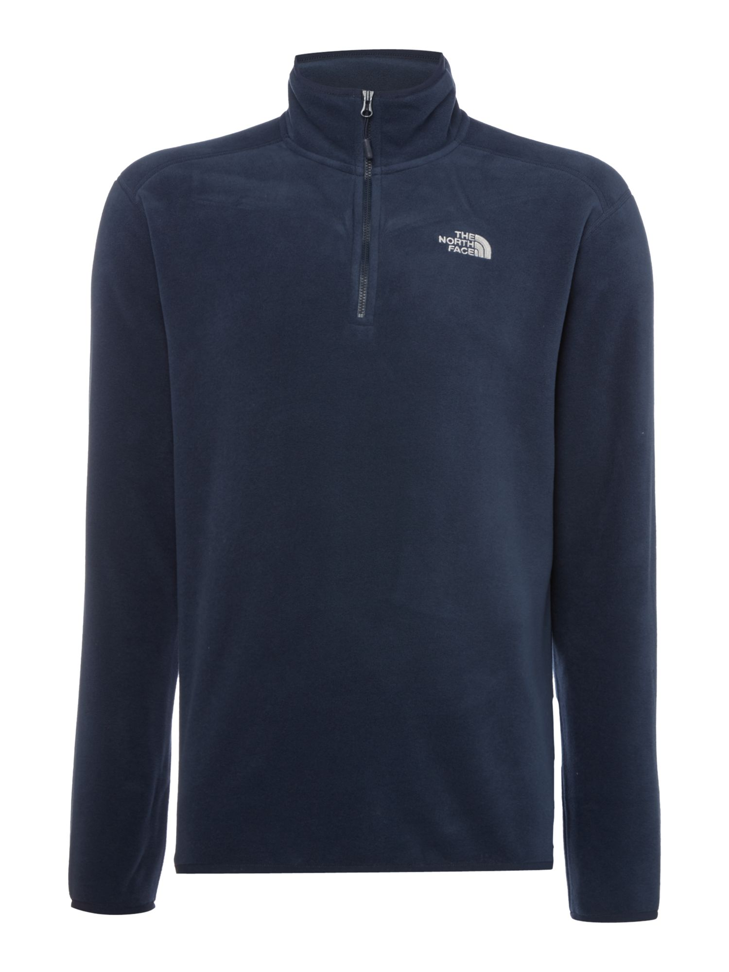 Men's The North Face 100 Glacier 1/4 zip fleece, Blue
