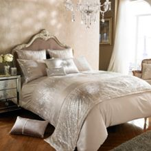 Kylie Minogue Jessa blush bed linen range