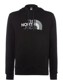 The North Face Overhead large logo hoodie
