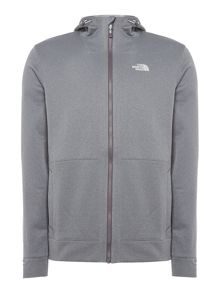 The North Face Softshell look full zip hoodie