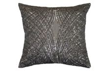 Kylie Minogue Esta silver 50 x 50cm cushion