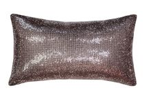 Kylie Minogue Aurora mauve cushion