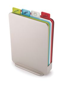 Joseph Joseph Index Compact Chopping board set, Silver