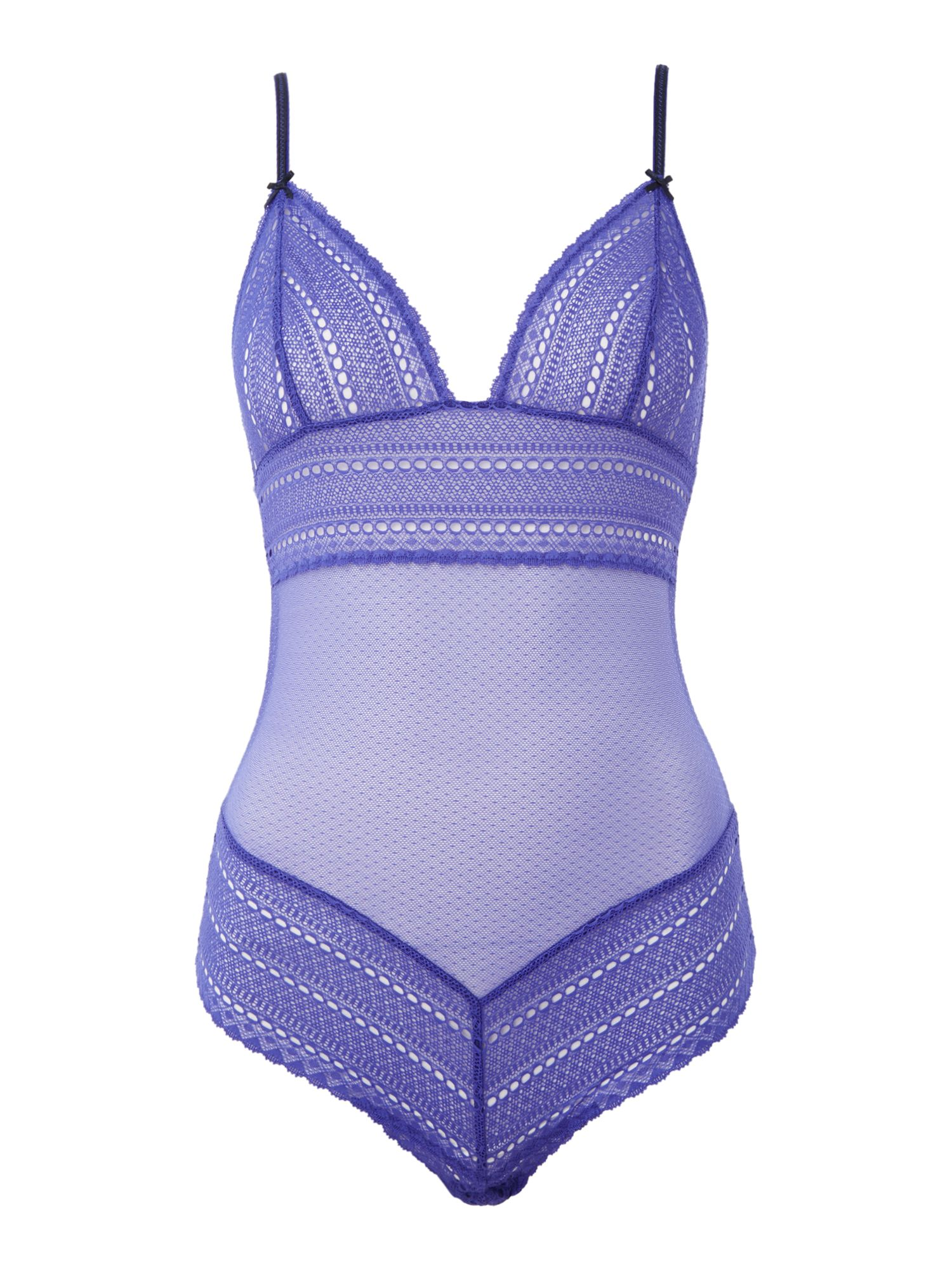 Heidi Klum Intimates Mada Rhythm Bodysuit, Purple