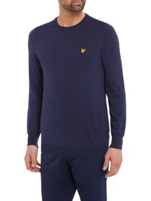 Lyle and Scott Macdui crew neck merino jumper