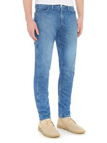 Levi's Line 8 slim tapered mid wash jeans
