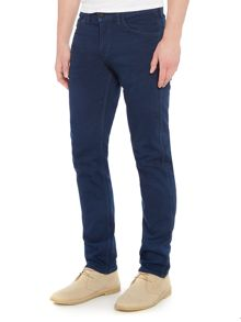 Levi's Line 8 slim straight fit dark wash jeans