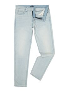 Levi's Line 8 slim tapered fit light wash jeans