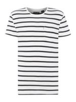 Levi's Line 8 long line 1 pocket striped t-shirt