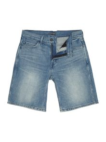 Levi's Line 8 slim straight fit denim shorts