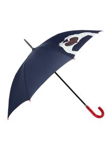 Lulu Guinness Lulu Guinness heart hands kensington umbrella