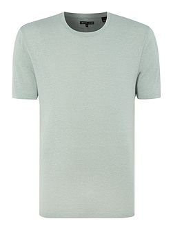 Line 8 flecked marl crew neck t-shirt