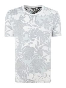 Levi's Line 8 inside out tropical print t-shirt