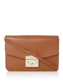Furla Metropolis fold over shoulder bag